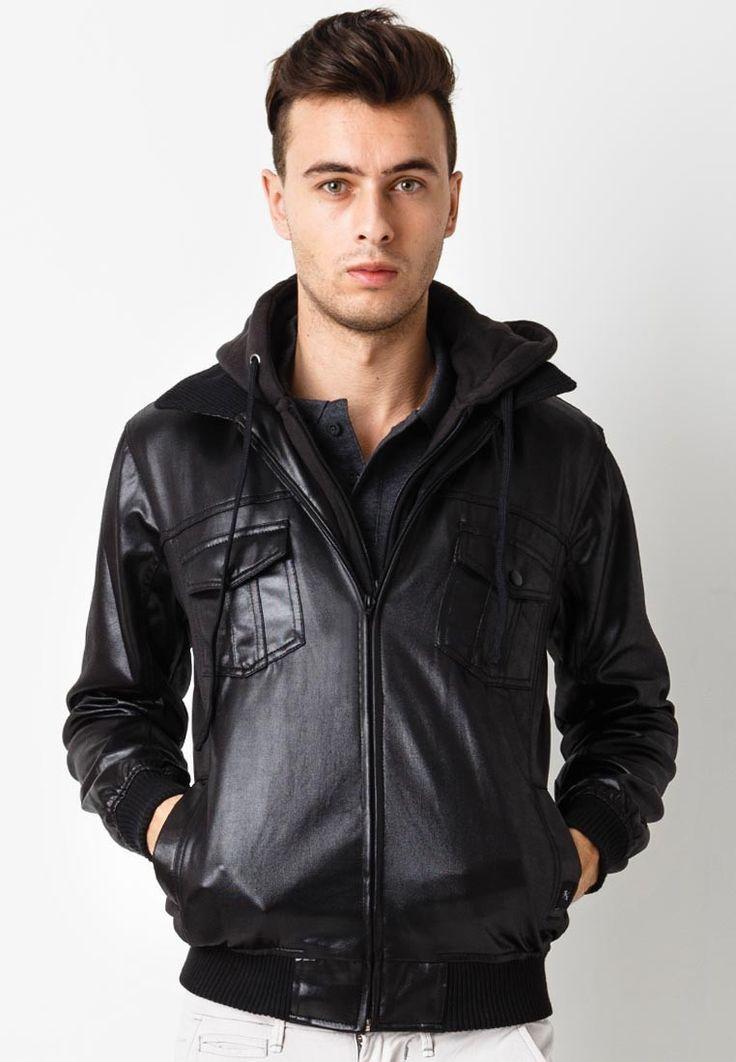 Mile Jacket Hoodie Black by SIXPAX. http://www.zocko.com/z/JHh4G