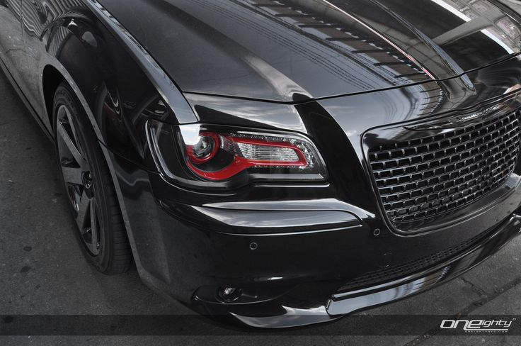 black 2014 Chrysler 300 SRT8 | Recent Product