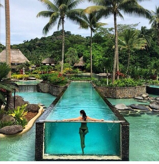 I can't wait to recreate this picture, love it! The Laucala Resort in Fiji.