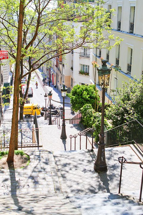 Montmartre, Paris, France -. Montmartre is home to the highest point in the city, so we made our way up the many, many steps…