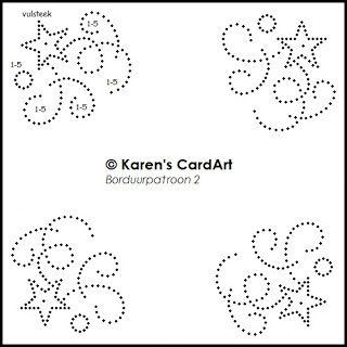 Karen's CardArt: Borduurpatroon 2