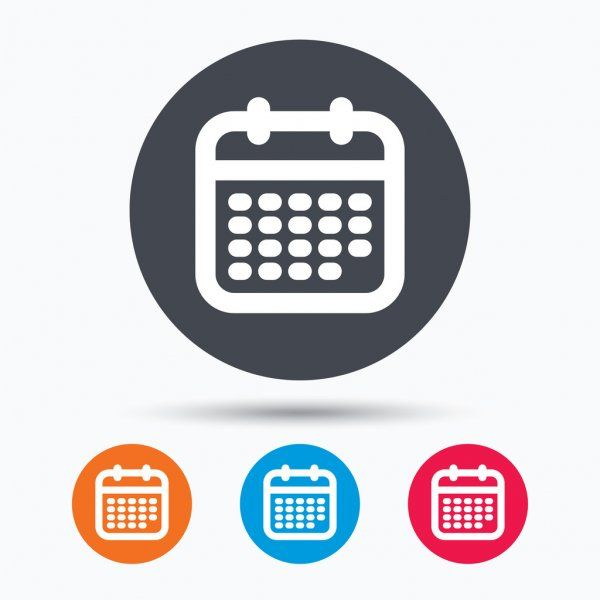 Calendar Month Event Day Date Business Schedule Page Illustration Vector Year Graphic Week Design Number Modern Pla Calendar Icon Calendar Icon
