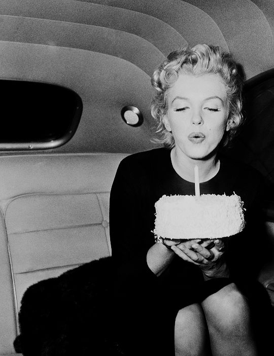 "beauvelvet: "" ""Happy 90th Birthday Marilyn Monroe! "" I want to love and be loved more than anything else in the world. ~ Marilyn Monroe. """