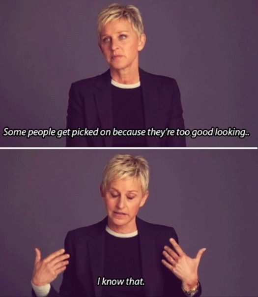Ladies and Gentlemen, Ellen DeGeneres