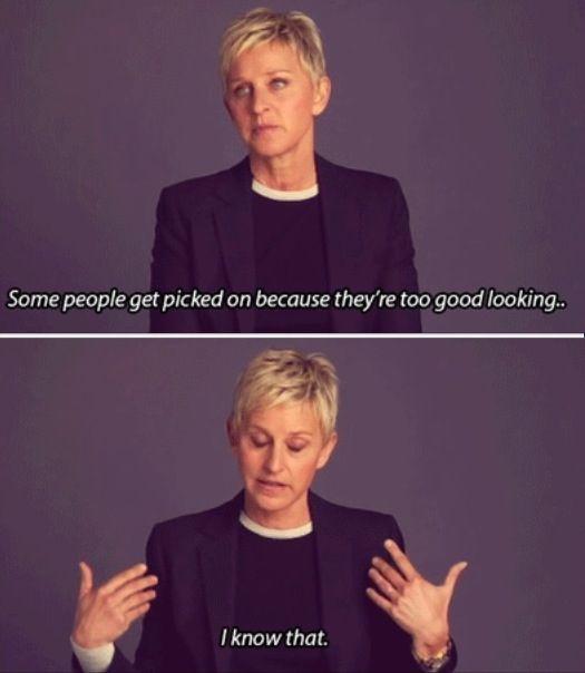 Ladies and Gentlemen, Ellen DeGeneres
