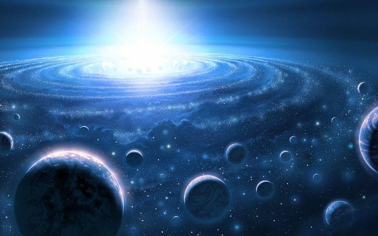 Так как гравитация лежит в основу все звездных систем и все кружится вокруг одной точки как показано тут, меня посетила идея если пространство это многомерная сетка то гравитация заставляет все вокруг себя все систематически кружится и всего это должен быть центр.