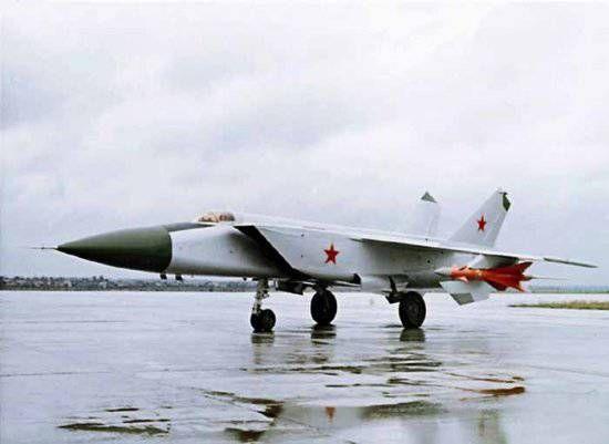 МиГ-25 недостижимый рекордсмен