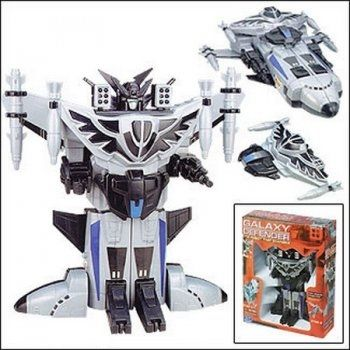 Робот-трансформер X-Bot Солнечный воин 57002-а - истинный защитник галактики.  Робот вооружен многочисленными пушками, пулеметами и ракетами, которые уничтожат любого врага, появившегося у него на пути  Материал: пластмасса с элементами металла  Игрушка трансформируется из робота в космический корабль  Робот вооружен многочисленными пушками, пулеметами и ракетами, которые уничтожат любого врага, появившегося у него на пути. Но кроме того, он несколькими несложными движениями превращается в…