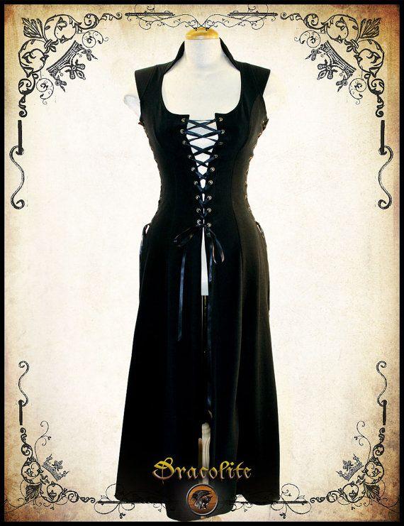 Royal corsetto Bustier medievale di abbigliamento - Steampunk camicetta per LARP, costume victorian e cosplay