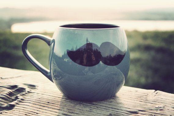 Funny Valentine Gift  Mr Teacup's big moustache hug by MrTeacup, $34.00