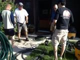 Better Home Design Inc - helping the community clean-up after the destructive floods in Calgary, Alberta on June 22, 2013