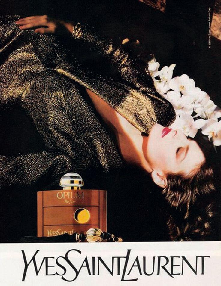 ☆ Linda Evangelista | Photography by Steve Hiett | For Yves Saint Laurent…