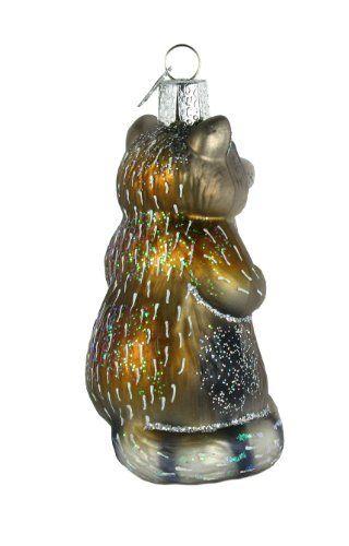 Old World Christmas Raccoon Glass Blown Ornament \u003e\u003e\u003e You can find