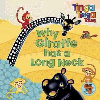 """You see, there was a time when Giraffe didn't have a long neck. She had short legs, short horns and a very short, stumpy neck. She was also a very fussy eater ...So what do you think happened when she tried to get some honey from deep inside the tree? Brilliantly colourful """"Tingatinga"""" artwork tells the story of Giraffe's transformation from a stumpy necked beast with short legs into her elegant Tinga Tinga persona. Featuring the colourful cast of """"Tinga Tinga"""" animals and glorious…"""