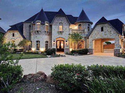 modern castle homes