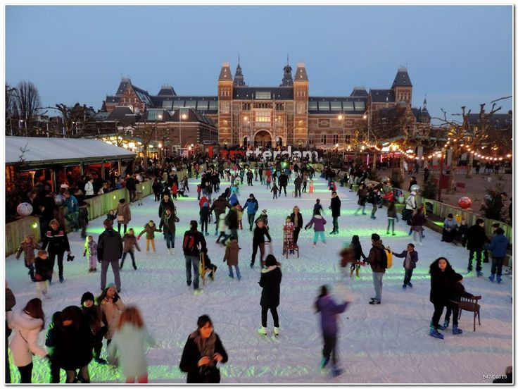 Museumplein - Amsterdam - Netherlands