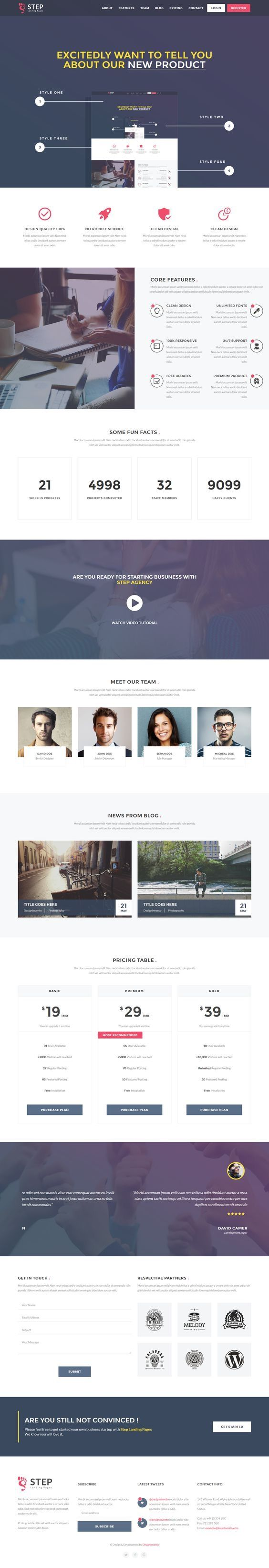 Step - Startup HTML Landing Page Template. Download: https://themeforest.net/item/step-startup-html-landing-page-template/16692048?ref=skarin