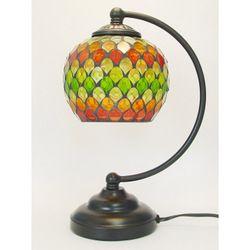 モザイクテーブルランプダムラクリアレッド照明インテリアおしゃれ卓上ライト間接照明ヨーロピアン調