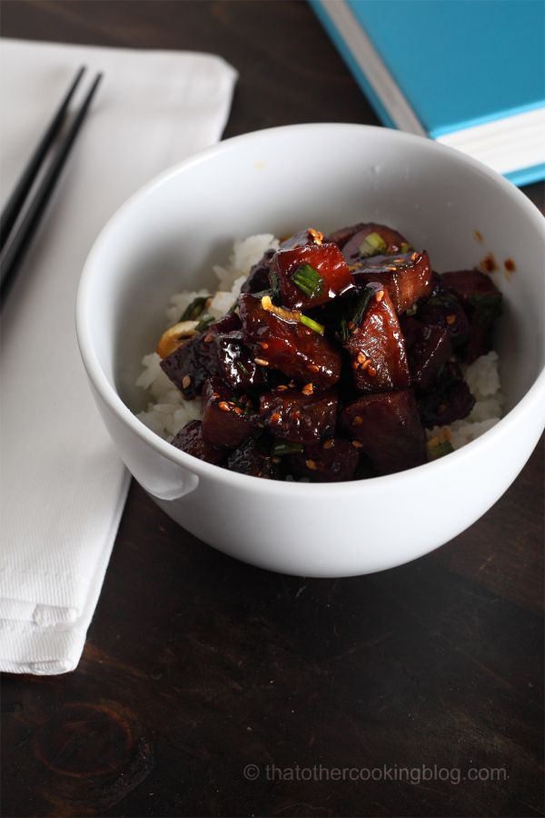 Mongolian beef tongue by That Other Cooking Blog