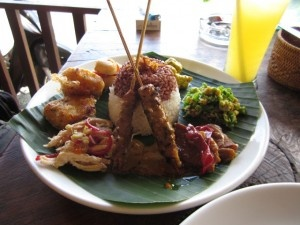 nasi campur - Indonesian food