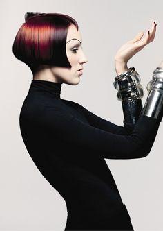 hair trend collections / парикмахерские тренды / стрижки, прически, окрашивания волос » Sassoon