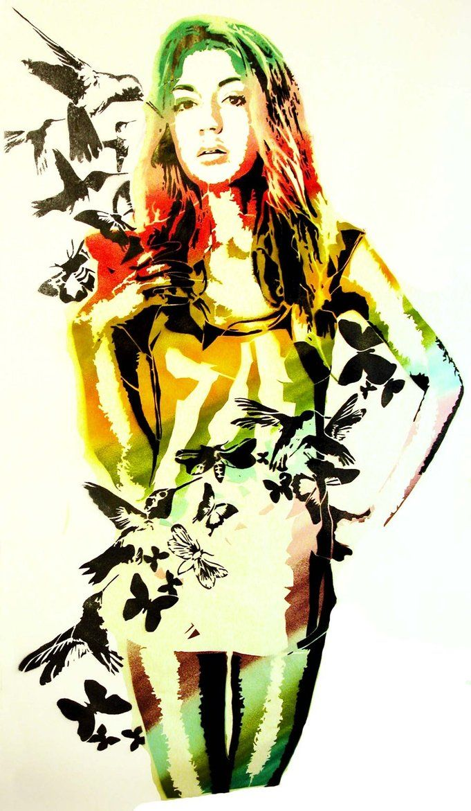 Stencils colors 88