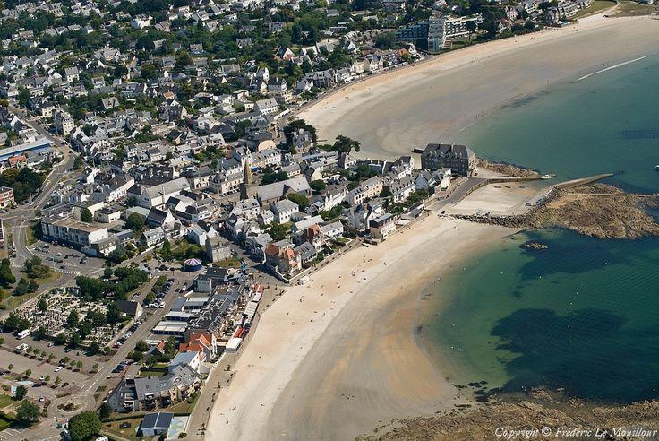 Photo aérienne de : Larmor-Plage - Morbihan (56)