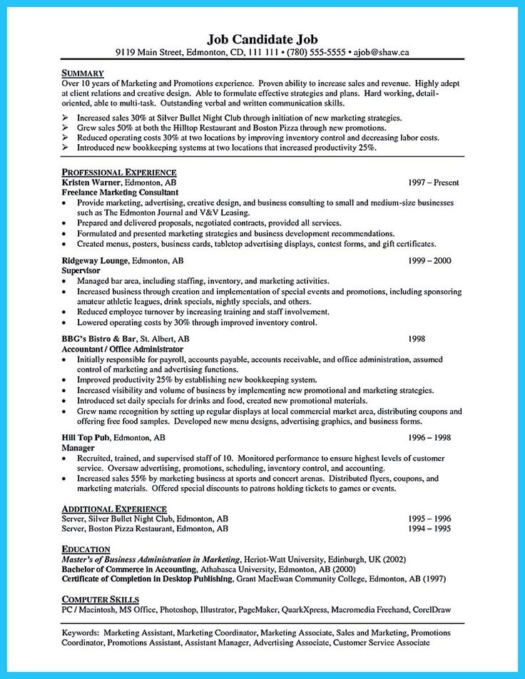 15 best Resume images on Pinterest | Resume templates, Resume and ...
