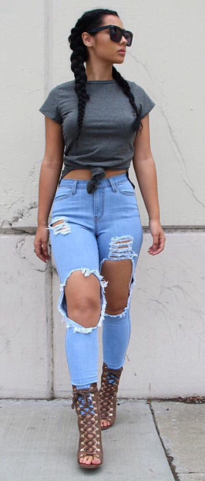 5296 best ~MY FASHION STYLE #2~ images on Pinterest | Casual wear Feminine fashion and Casual ...