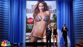Jimmy Unveils the Sports Illustrated Swimsuit Cover