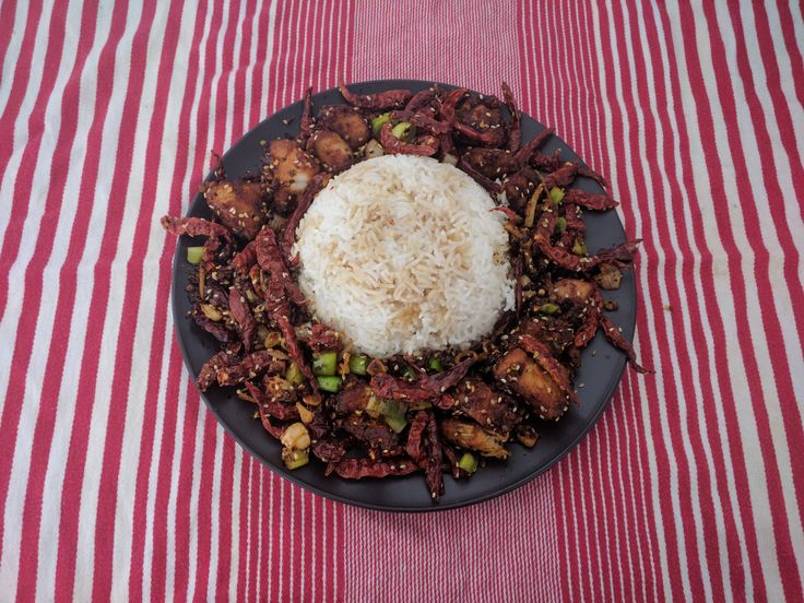 homemade la zi ji or szechuan chicken or chongqing