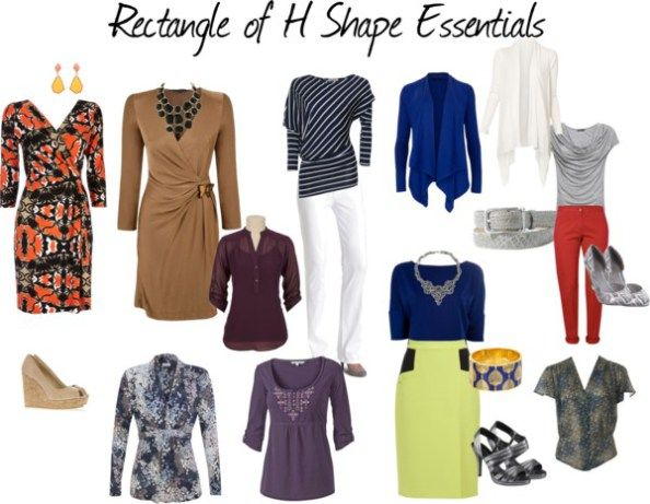 rectangle body shape essentials