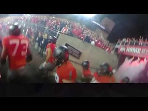 Buckeye Team Runout vs. Nebraska in Full 360 Degrees