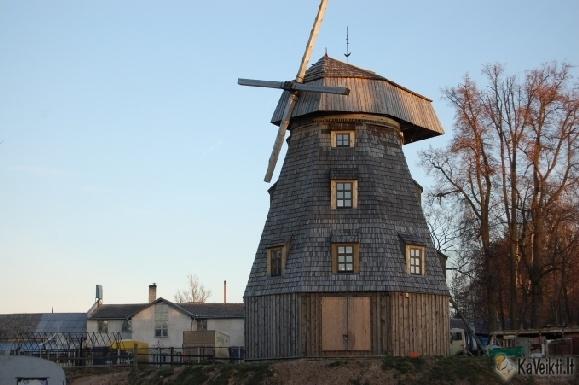 Windmill in Pilaitė