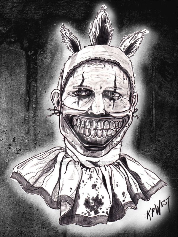 36 best images about HORROR ADULT COLORING PAGES on Pinterest