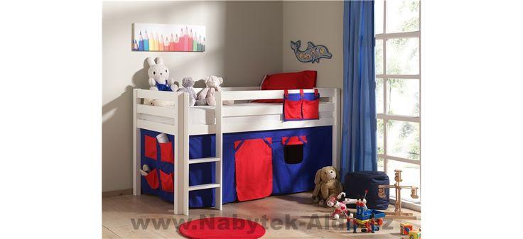 Dětská postel z masivu Pino PIHSZG14-70075