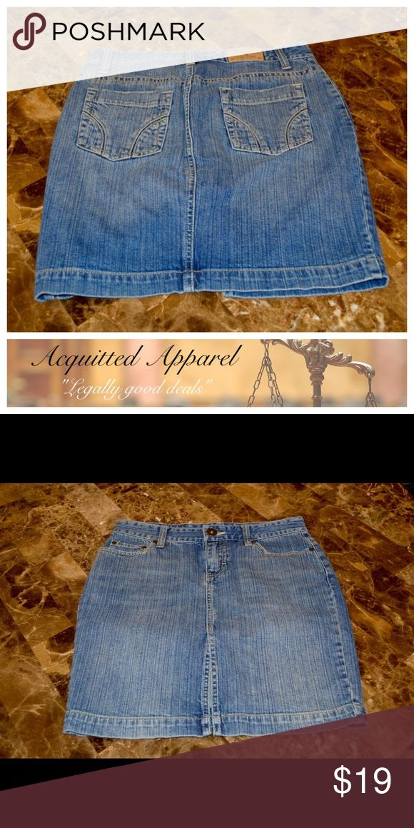 American Eagle Long Denim Skirt Excellent condition. Size 0. Item location bin 8 American Eagle Outfitters Skirts