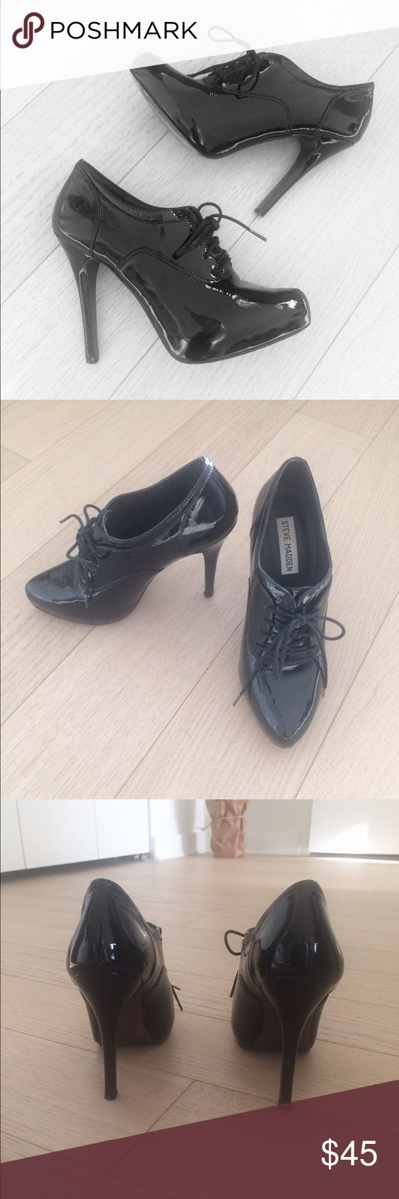 Selling this Steve Madden Patent Leather Heel on Poshmark! My username is: zoelynn38. #shopmycloset #poshmark #fashion #shopping #style #forsale #Steve Madden #Shoes