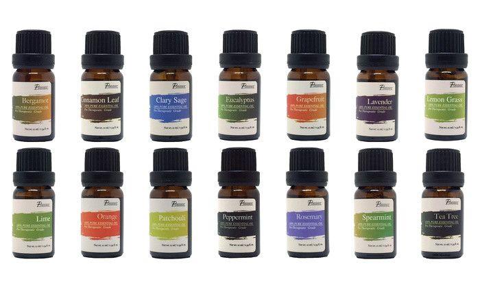 Essential Oils- 100 % Pure Therapeutic Essential Oils, 14-Pack