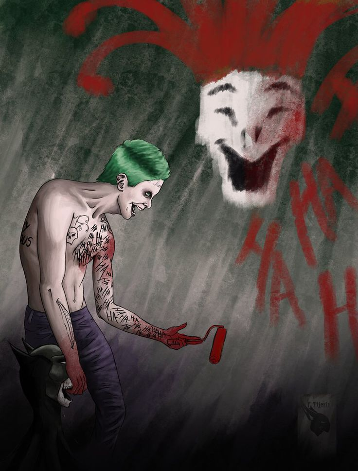 Jared Leto Joker Fan Art Suicide Squad Pinterest