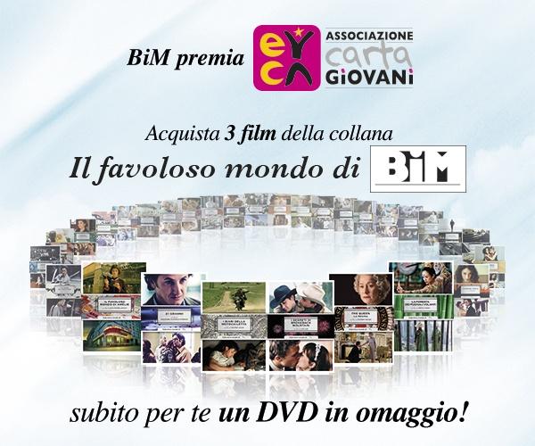 Promozione Carta Giovani sui DVD dal BimStore!  http://cartagiovani.it/news/2013/06/10/dvd-del-grande-cinema-con-bim-sconto-te