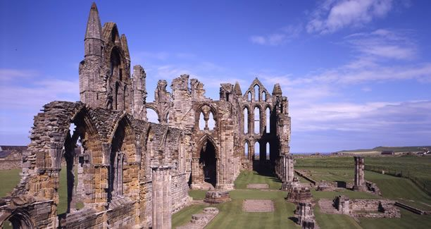 Whitby Abbey- Britain's most romantic ruin