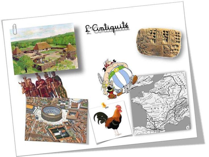 Séances intéressantes sur les différentes époques d'histoire étudiées en CE2