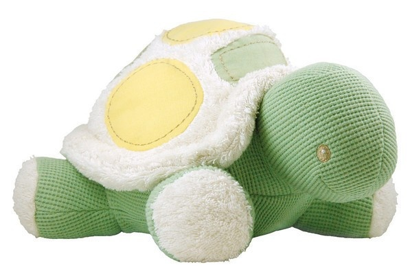 Dandelion Plush Turtle Organic Cotton