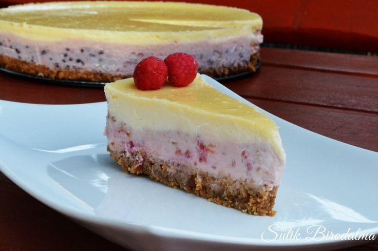 SÜTIK BIRODALMA - Málnás sajttorta / Raspberry cheesecake