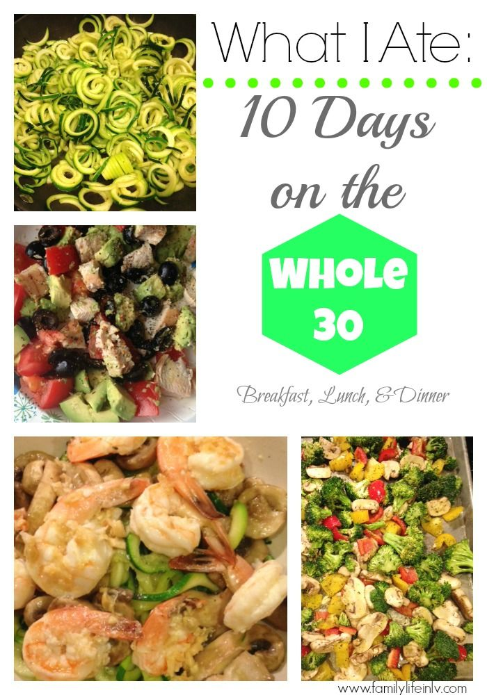 10 Days on the Whole 30 Breakfast, Lunch, and Dinner + Weekly Menu Plan   Our Knight Life  #Whole30 #Paleo #MealPlanning http://www.familylifeinlv.com/2014/02/what-i-ate-10-days-on-the-whole-30-breakfast-lunch-and-dinner-weekly-menu-plan.html