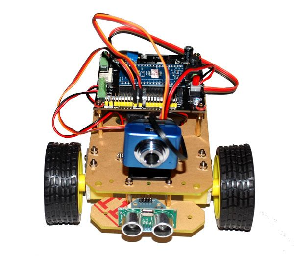 Rover: WiFi Remote Control Robot with WiFi Video Camera