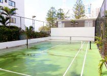 Ocean Royale - Half court tennis - Broadbeach Holiday Apartments