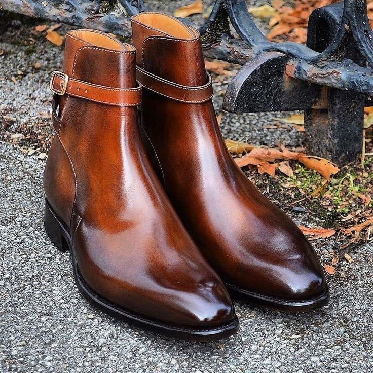 いいね!1,628件、コメント29件 ― Third menswear blog in Franceさん(@jamaisvulgaire)のInstagramアカウント: 「Algarve patina on those Carlos Santos jodhpur boots. Perfect balance between light and dark brown.…」