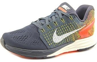 Nike Lunarglide 7 Round Toe Synthetic Running Shoe.